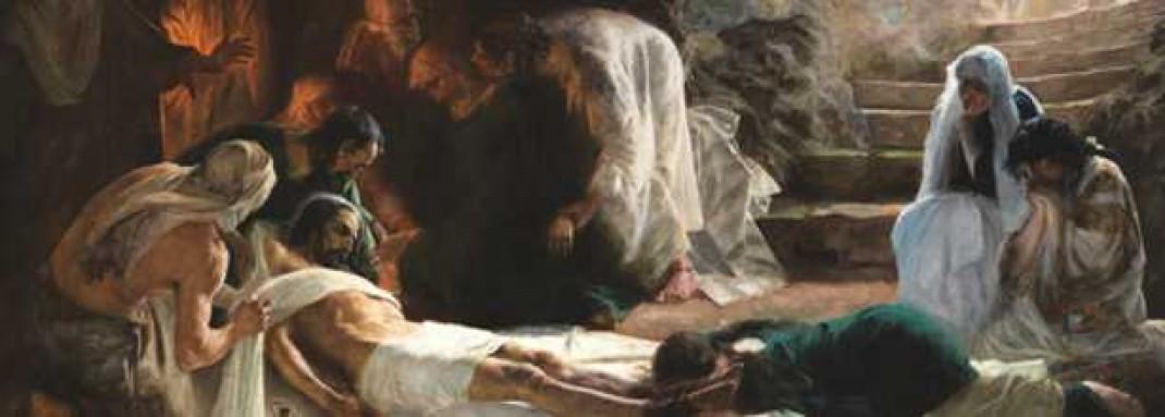 La deposición de Cristo