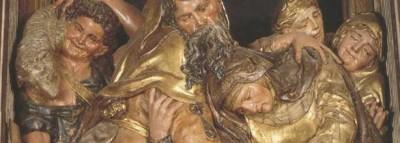 Abrazo de San Joaquín y Santa Ana