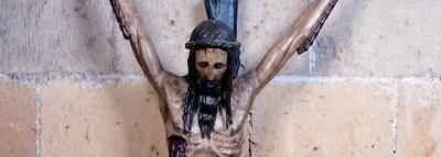 Crucifijo gótico Doloroso