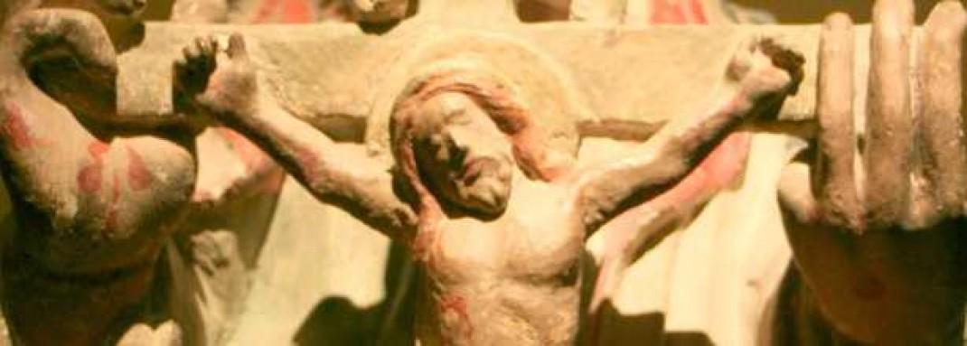 El Padre Eterno sosteniendo a Cristo Crucificado