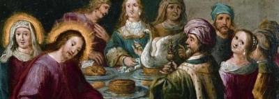 Bodas de Caná / Jesús bendiciendo a los niños