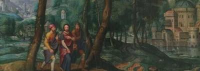 La aparición a los peregrinos de Emaús